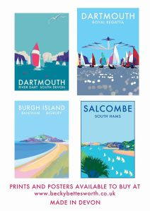 becky bettesworth seaside posters