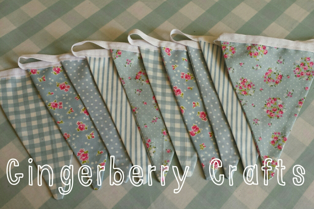 gingerberry bunting  - pretty