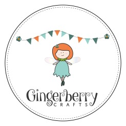 Gingerberry Crafts New logo - Circle